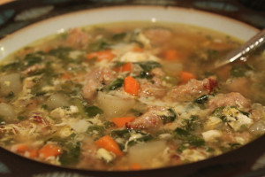 Sausage-Potato Soup